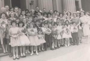 Easter Sunday in the 1960's