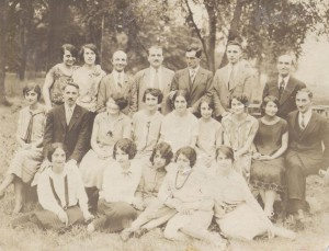 The Church Choir in Pelham Bay in 1926