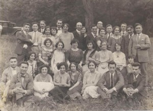 The Church Choir of 1932