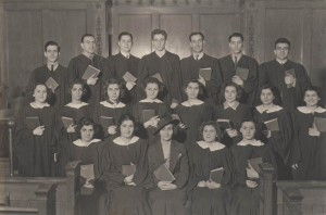 The Church Choir of the 1930s
