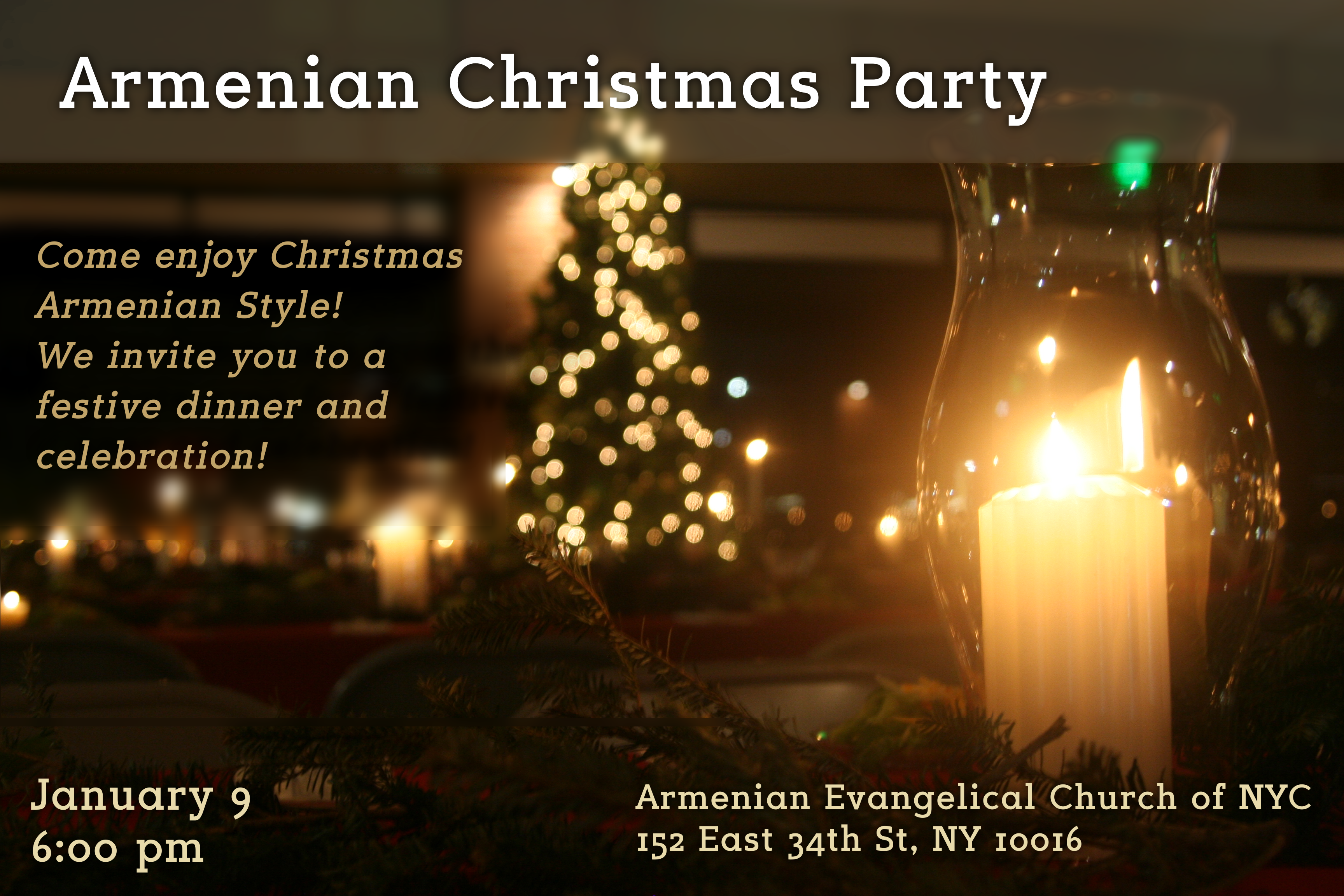 event details - When Is Armenian Christmas